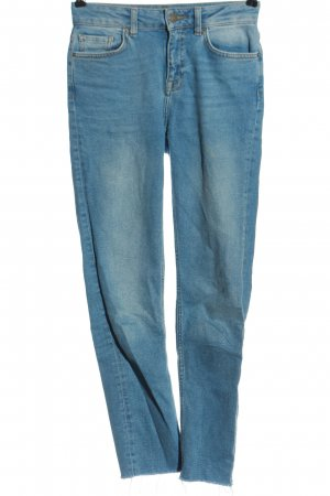 Even & Odd Straight-Leg Jeans blau Casual-Look