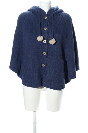 Even & Odd Strick Cardigan blau Casual-Look