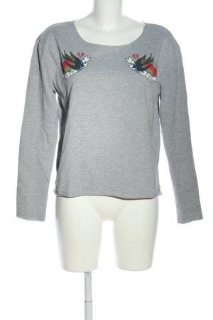 Even & Odd Sweatshirt hellgrau meliert Casual-Look
