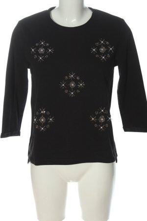 Even & Odd Sweatshirt schwarz Casual-Look