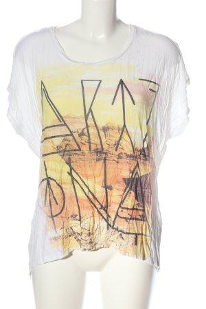 Even & Odd T-Shirt Motivdruck Casual-Look