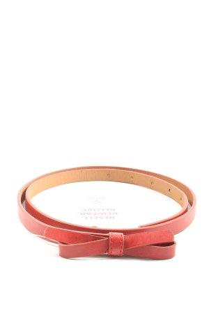 Even & Odd Cinturón pélvico rojo look casual