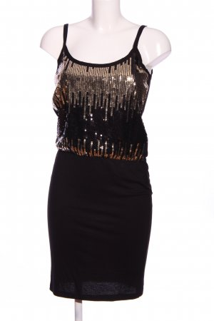 Even & Odd Trägerkleid schwarz-goldfarben Farbverlauf Elegant
