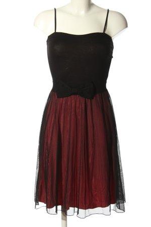 Even & Odd Pinafore dress black-red elegant