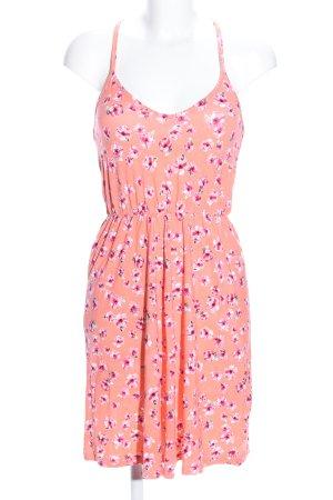 Even & Odd Trägerkleid hellorange-pink Blumenmuster Casual-Look