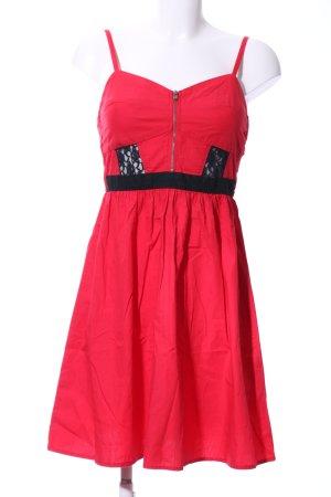 Even & Odd Trägerkleid rot-schwarz Casual-Look