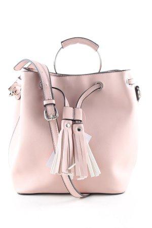 Even & Odd Umhängetasche pink Business-Look