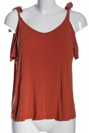 Even & Odd V-Neck Shirt red casual look
