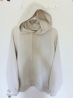 everlane Damen Kapuzenpullover hoodie Creme Gr.XL 42