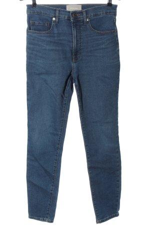 Everlane High Waist Jeans blau Casual-Look