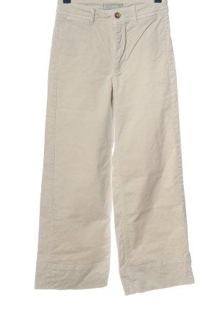 Everlane Jeans flare blanc cassé style décontracté