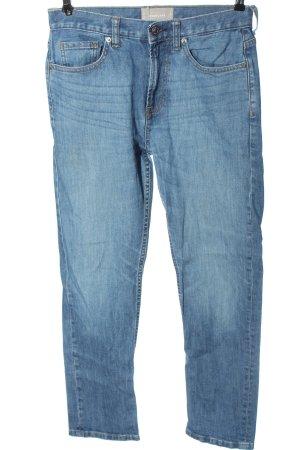 Everlane Straight-Leg Jeans blau Casual-Look
