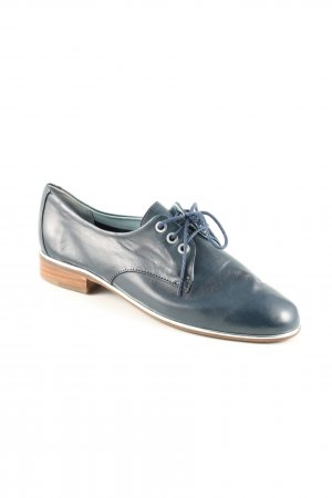 Everybody Wingtip Shoes blue-silver-colored casual look