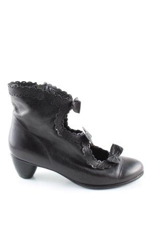 Everybody Cut-Out-Stiefeletten schwarz extravaganter Stil