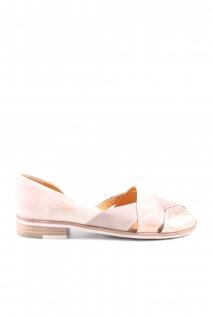 Everybody Peeptoe Ballerinas pink Casual-Look
