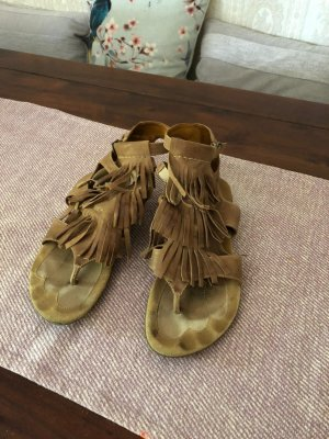 Everybody Toe-Post sandals camel