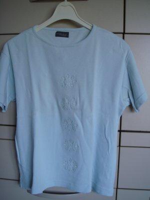 evidence fashion - Shirt Pulli Gr. 40/42 hellblau  - Made in Spain - VINTAGE