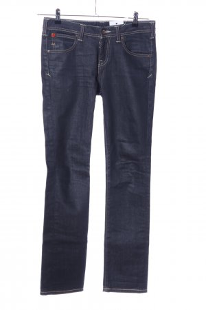 Evisu High Waist Jeans blau Casual-Look
