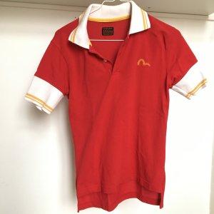 EVISU rotes Poloshirt