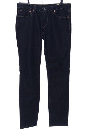Evisu Skinny Jeans schwarz Casual-Look