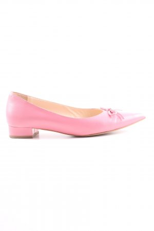 Evita Ballerinas mit Spitze pink Casual-Look