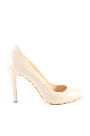 Evita High Heels wollweiß Business-Look