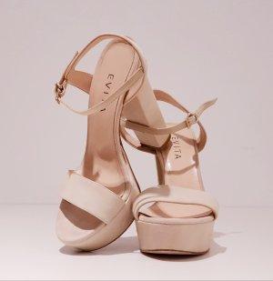 EVITA High Heels / Pumps / Sandalette / Sandalen / 100% Veloursleder/ Leder / Klassische Schuhe