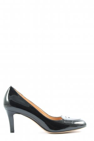 Evita Spitz-Pumps schwarz Business-Look