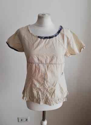 Ewa i Walla weiße Bluse im Vintagelook