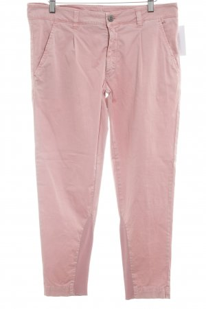 exit brooklyn Bundfaltenhose apricot Casual-Look
