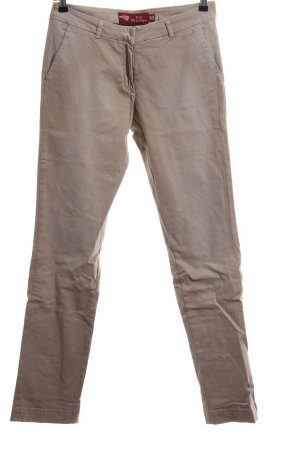 exit brooklyn Chinohose wollweiß Casual-Look
