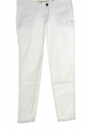 exit brooklyn Low-Rise Trousers white casual look