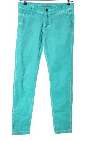 exit brooklyn Pantalon taille basse turquoise style décontracté