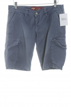 exit brooklyn Shorts stahlblau Casual-Look