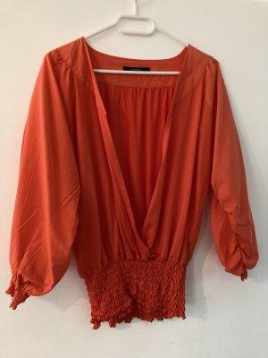 Vero Moda Blusa trasparente rosso