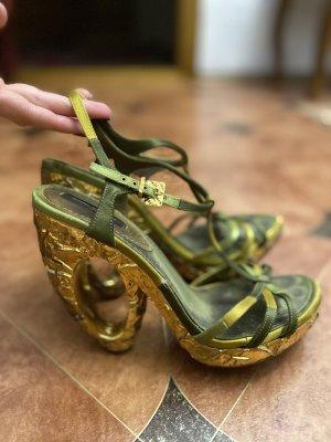 Exklusive Damen Sandalen Schuhe in Gr 38,5 von Louis Vuitton