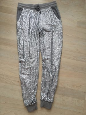 Marc Aurel Joggingbroek zilver