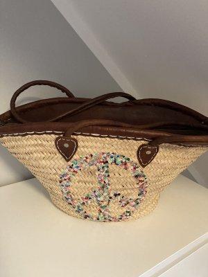 Basket Bag cream-brown