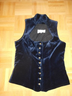 Angermaier Traditional Camisole blue cotton