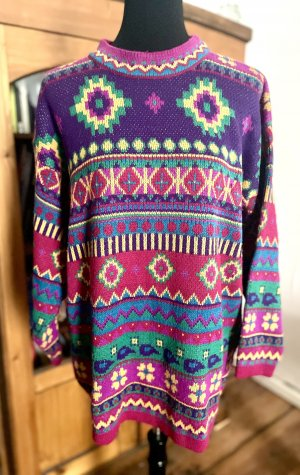 Vintage Long Sweater multicolored