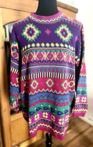 Vintage Jersey largo multicolor