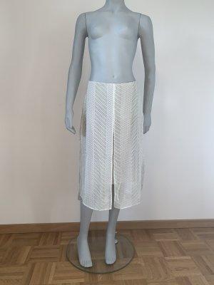 Strenesse Falda midi blanco-verde pradera