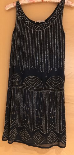 Anna Field Jurk met pailletten donkerblauw-zilver