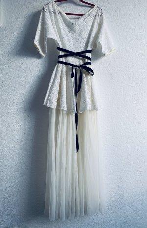 Vestido de baile blanco