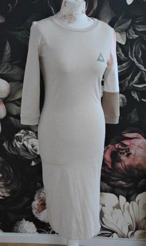 Le coq sportif Vestido de tela de sudadera multicolor