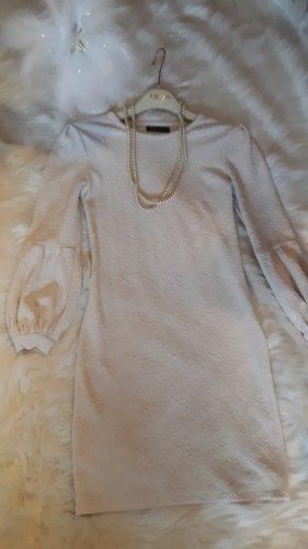 Stretch jurk wit