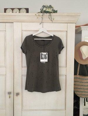 Exklusives neues Shirt von Just Junkies, mit Etikett
