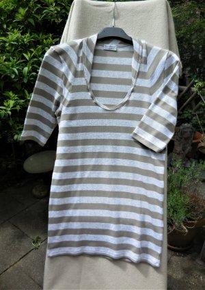 Brunello Cucinelli T-shirt grigio chiaro-beige Cotone
