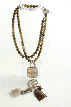 Exoal Collier Necklace multicolored glittery