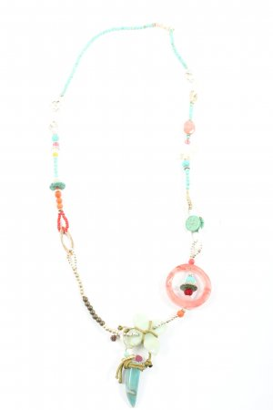 Exoal Collier Necklace turquoise-red party style
